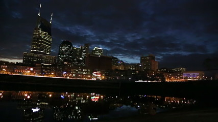 Nashville Riverside Night