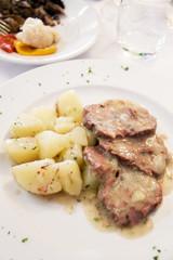Italian beef with potatoes