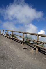 Volcano fence