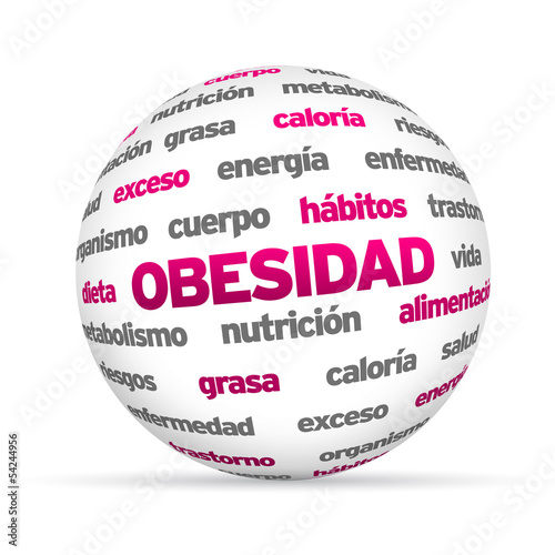 Obesity Word Sphere (In Spanish)