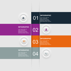 Modern Design template / can be used for infographics