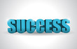 success text illustration design