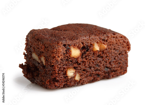 Brownie with hazelnut