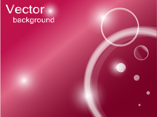 Red abstract vector background.