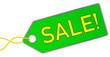 Sale Verkauf Anhänger grün  #130715-svg03