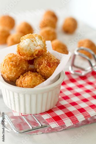 Fritter bite
