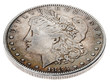 Morgan Dollar - Heads High Angle