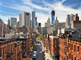 Fototapety Lower Manhattan Cityscape