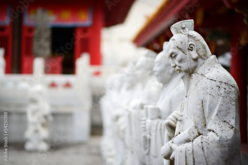 Papiers peints Statue Confucius Shrine in Nagasaki Japan