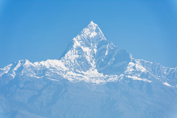 Machapuchare mountain, Pokhara, Nepal