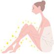 女性 美容 脚