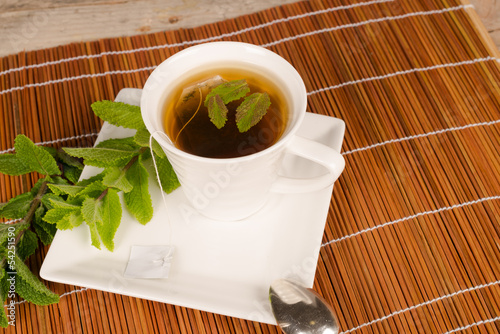 Tea with spearmint