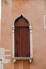 ancient window in Venice