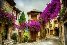 Art magnifique vieille ville de Provence