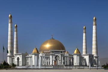 Mosque in native village of first president of Turkmenistan Niya