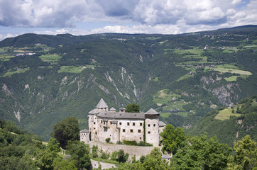 South Tyrol Landscape with Castle (Bolzano)