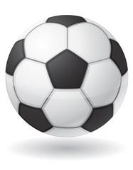 football soccer ball vector illustration
