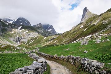 Sentier alpin