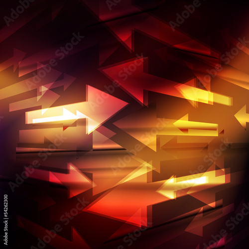Neon abstract design background vector