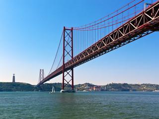 Lissabon, Brücke des 25. April über den Tejo