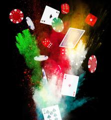 poker background
