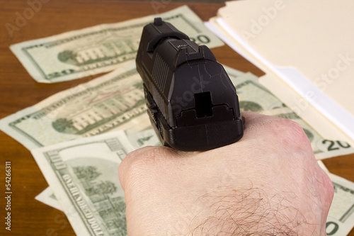 Robbery in the office