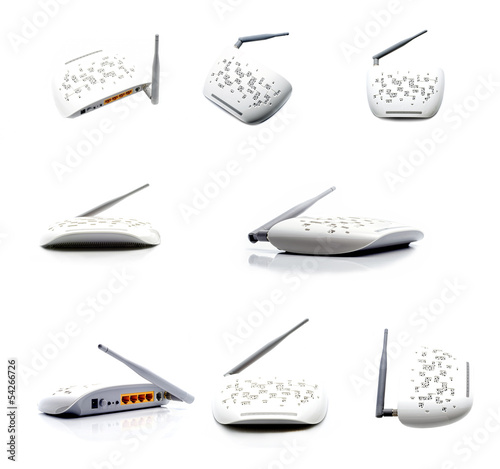 Router collage