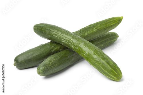Fresh japanese cucumbers