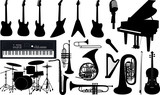 vector_music instruments