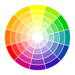 Farbkreis 12-farbig