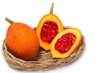 Gac fruit, Baby Jackfruit, Spiny Bitter Gourd, Sweet Grourd or C