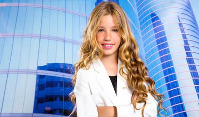 Fashion student girl as businesswoman portrait