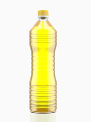 Bottle of cooking oil