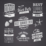 Summer Chalkboard Designs
