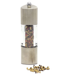 peppermill with pepper corns