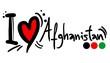 Love afghanistan