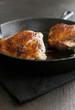 Crispy glazed skin fried turkey