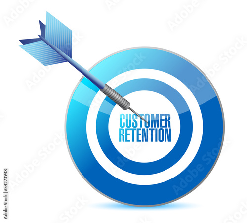 customer retention target illustration