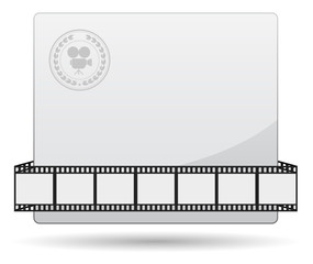 film strip card