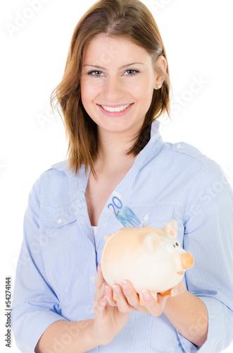 auszubildende spart ihr geld
