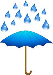 Regenschirm Wetter