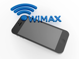 Sign WiMAX standard with smartphone