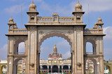 Gate of the Mysore Palace, India