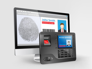 Access - Biometric fingerprint reader