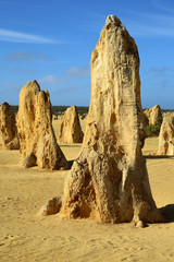 Pinnacles. West Australien