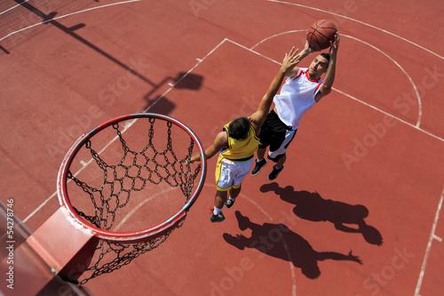 Plakát, Obraz Basketball