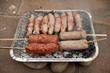 bbq barbecue kebab sausage disposable
