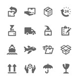 Shipping icons - 54279736