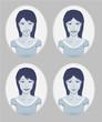 Avatar: girl emotions