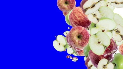Falling Apples (with Alpha Channel)